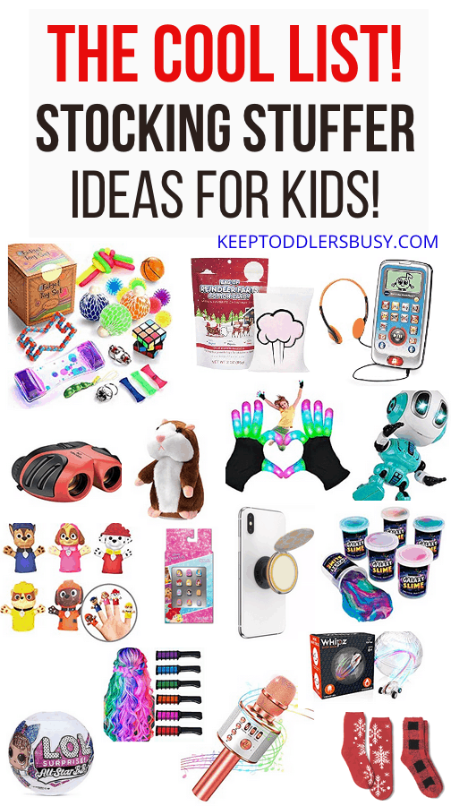 kids stocking stuffer list