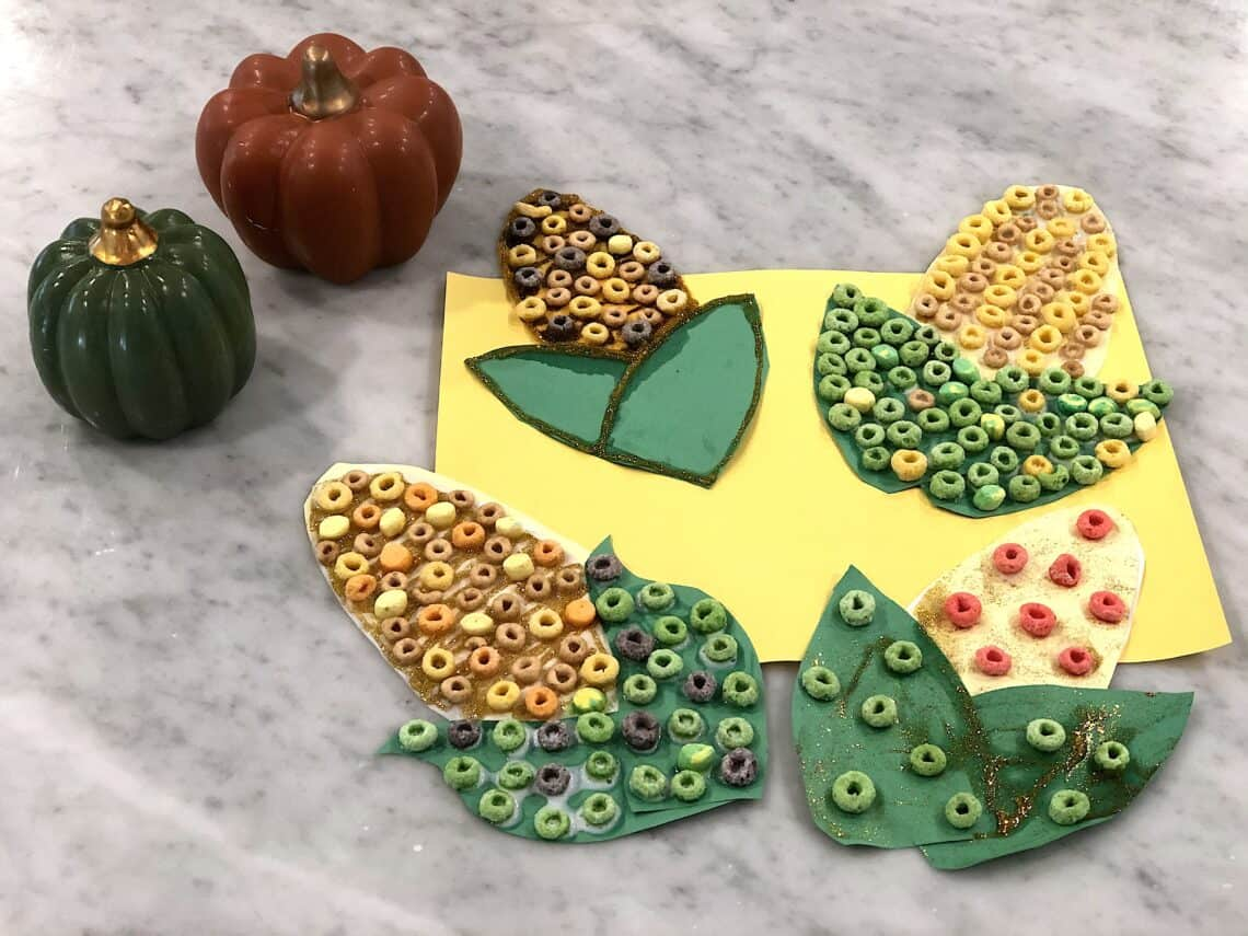 Looking for A Fun and Easy Corn Craft Preschoolers Will Love? Well Check Out This Awesome Fall Craft That Will Keep Your Child Occupied for The Season! #fallcraftsforkids #corncraft #thanksgivingcraft
