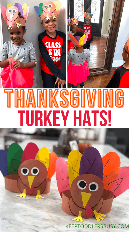 Thanksgiving turkey craft kids and toddlers