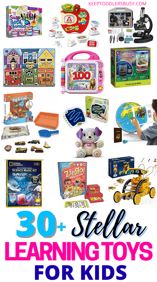 Stop What You Are Doing And Check Out Some Of THE Best Learning Toys For Kids That They Will Actually Love And Use! These Holiday Gift Ideas Are A Must-See For The Kids. #giftideas #stockingstuffers