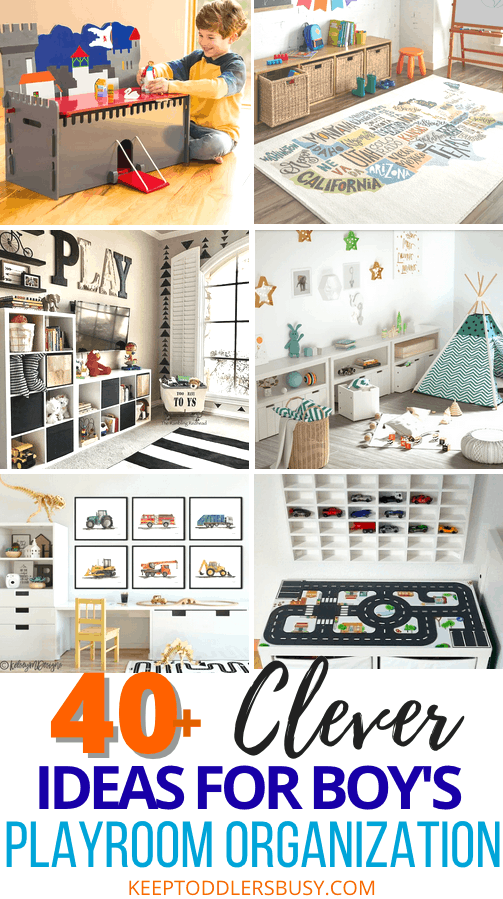 playroom ideas and organization