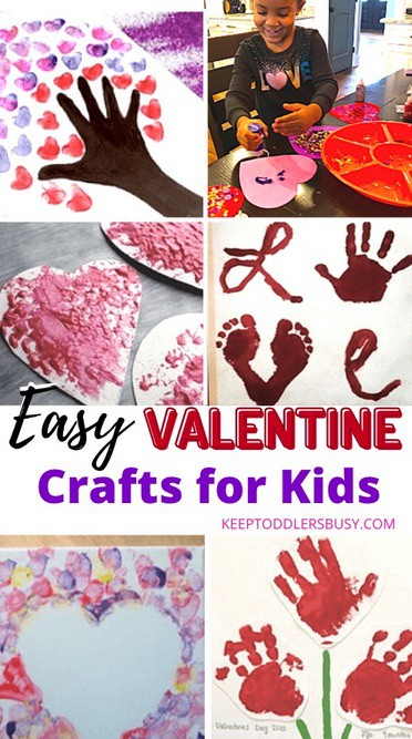 Valentines crafts for toddlers