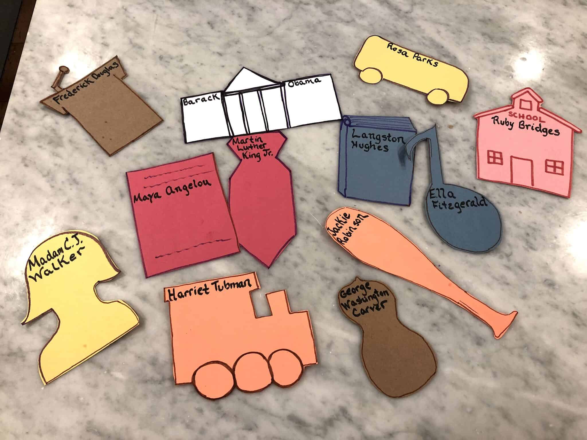 black history month crafts for kids