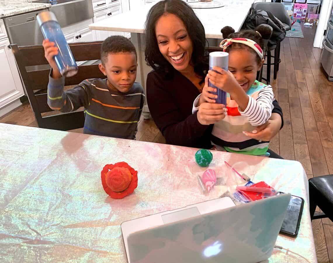 Galaxy sensory bottle for kids