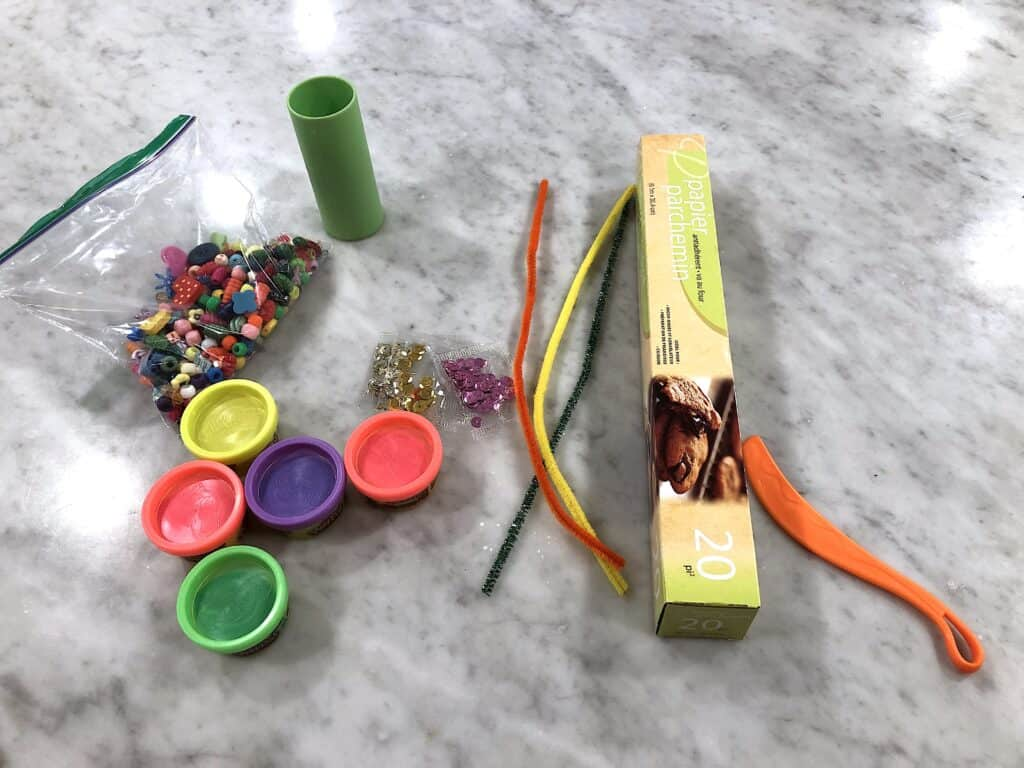 easter crafts for preschoolers play dough