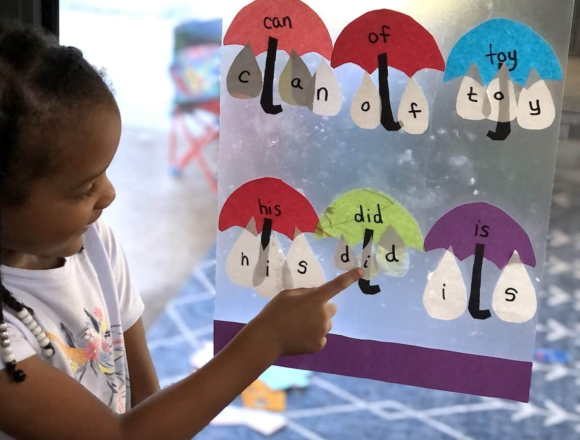 preschool sight word activities