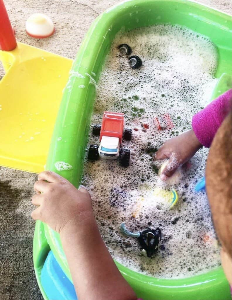 Water Table Car Wash
