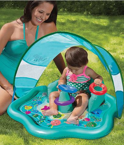 Splash Play Mat and Inflatable Kiddie Pool