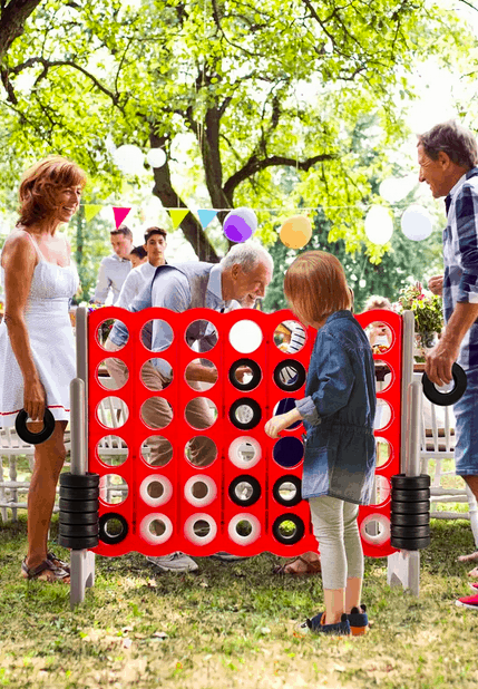 Giant Outdoor Connect Four