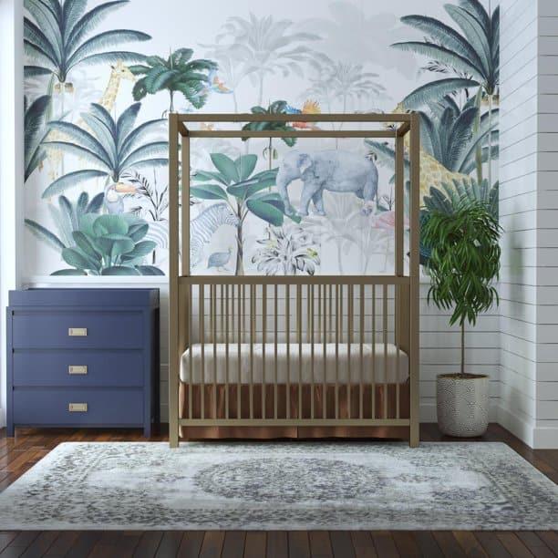 jungle girls-nursery-ideas