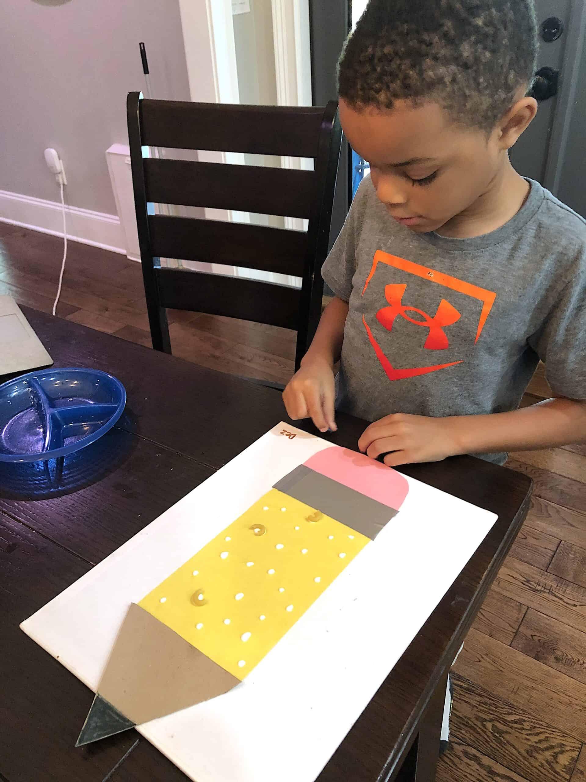 Back To School Craft kindergarten