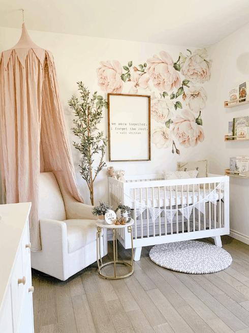 nursery room for girls