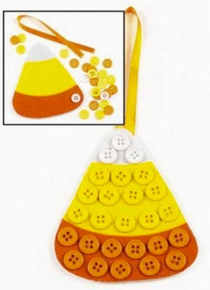 button candy corn
