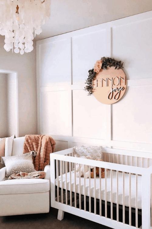 girls-nursery-room design