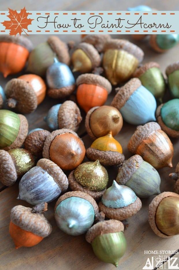 how-to-paint-acorns