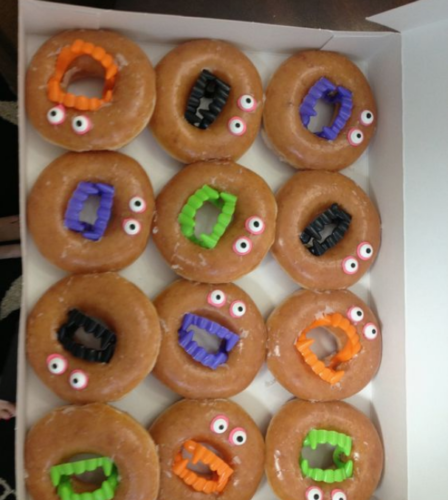 Scary Donuts